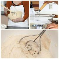 """13.5"""" The Original Danish Dough Whisk LARGE Stainless Steel Dutch Whisk Kitchen"""