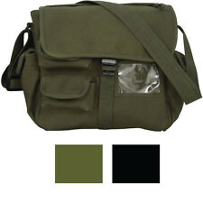 Urban Explorer Canvas Bag Large Satchel Shoulder Ladies Women's Girls Purse