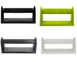 PLASTIC WALL MOUNTED KITCHEN PAPER ROLL TOWEL HOLDER STAND RACK DISPENSER NEW