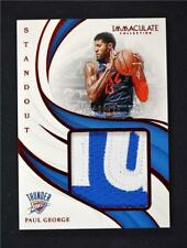 2018-19 Immaculate Standout Memorabilia Red #SM-PGR Paul George /25