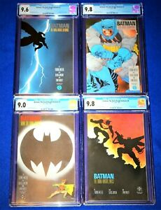 BATMAN The Dark Knight Returns 1-4 (CGC 9.8-)COMPLETE SET 1st Print Frank Miller