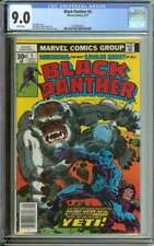 BLACK PANTHER #5 CGC 9.0 WHITE PAGES