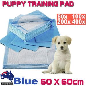Pet Toilet Training Pads 200/400X Puppy Dog Cat Indoor 60x60cm Super Absorben AU