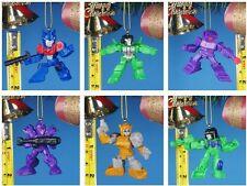 CHRISTBAUMSCHMUCK Deko Ornament Dekor Transformers OPTIMUS PRIME Robot A653 Set6
