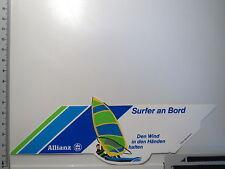 Aufkleber Sticker Allianz - Surfer an Board - Decal (S1168)