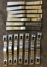 Riesen Konvolut Uhren Armbänder vintage NOS 14x