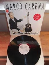 """MARCO CARENA """"Il Meglio Di....."""" LP VIRGIN ITA 1990"""