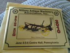 Nittany Antique Machinery Assn. Spring Show 2010 Dash Plaque Center Hall Pa.