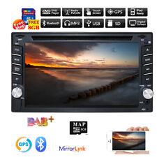 6.2'' Double 2 DIN Car DVD Player Stereo Head unit GPS Radio Bluetooth AU MAP SD