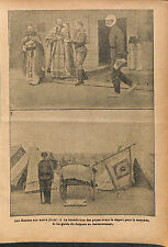 Russia Expeditionary Force in France Blessing of the Popes WWI 1916 ILLUSTRATION