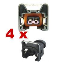Pluggen injectoren - BOSCH EV1 SHORT (4 x FEMALE) connector plug verstuiver kfz