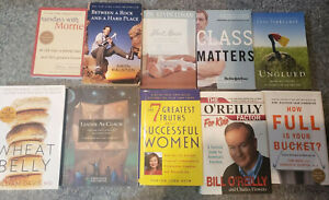 Self Help Book Lot of 10 Motivation Inspirational Personal Development