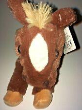 """GUND G5.0  Brown And White Horse NEW  10"""" Plush Stuffed Animal"""