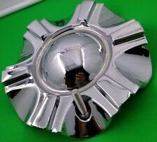 X POWER RACING  CENTER CAP # C803  S310-03 CHROME  WHEELS  CENTER CAP