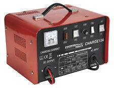 Sealey Cargador de batería 28amp 12/24v 230v