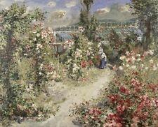 "Pierre-Auguste Renoir, ""The Greenhouse"", Image 17.875""h x 22""w"