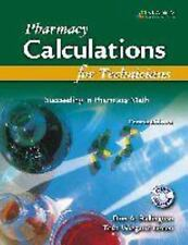 Pharmacy Calculations for Technicians : Succeeding in Pharmacy by Tova Wiegand …