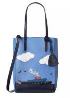 $1100 Ralph Lauren Purple Label Collection Steamboat Ralph Modern Mini-Tote Bag
