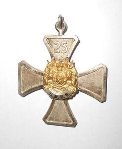 Abzeichen S.M.V.B. Kreuz 25 Jahre Sächsischer Militärvereins Bund Kaiserreich (2