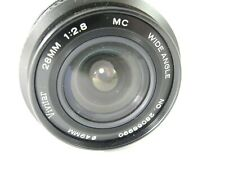 VIVITAR PENTAX K MOUNT 28MM/2.8 PERFECT GLASS SMOOTH FOCUS