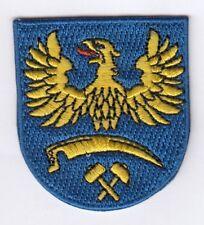 Oberschlesien  Wappen  Patch Aufnäher,Aufbügler Polen ,Polska