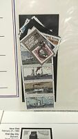 U.S Postal Services COMMEMORATIVE STAMP CLUB LOT 1 Steamboats Statehood Expo