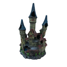 Castle with Three Turrets Aquarium Ornament, Will Look Great in any Fish Tank