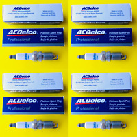 New Set of 4 ACDELCO Double Platinum Spark Plug For General Motors - MADE IN USA