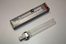 Philips 9 Watt Leuchtmittel UVC Ersatzlampe UV Lampe G23 9W Oase Osaga Velda W