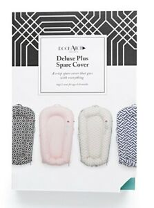 Dock A Tot Dockatot Deluxe Plus Spare Cover Pristine White NEW