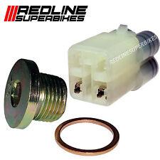 o2 Oxygen Lambda Sensor Eliminator Set Blanking Plug Suzuki GSXR 600 K6-K7 06-07