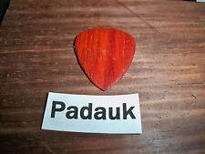 "Wood guitar pick ""Padauk wood""  by RobinsonWood Picks"