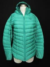 Arcteryx Cerium Green Goose Down 800 Fill Womens Hoody Jacket Large