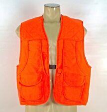 Master Sportsman Rugged Outdoor Blaze Orange Hunting Safety Vest Men' Sz L