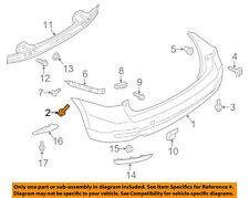 SUBARU OEM 12-15 Impreza Rear Bumper-Bumper Cover Clip 909140062