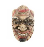 Maschera Nepal Artigianato Nepalese O Tibetano 9430