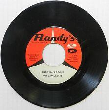 ROY RICHARDS 45 I've Lost My Baby RANDYS Reggae #S38
