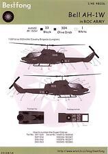 Bestfong Decals 1/48 BELL AH-1W COBRA Chinese Air Force
