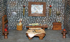 Painted War Room Furniture Set - Works with Dwarven Forge & DnD D&D