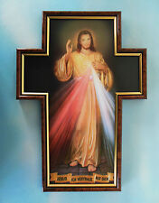 Anzmann Bild Barmherziger Jesus Kreuzform Gerahmt 36 X 26 Cm