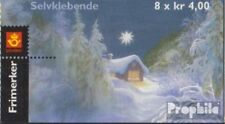 Norway 1331-1332MH (complete issue) stamp booklet fine used / cancelled 1999 chr