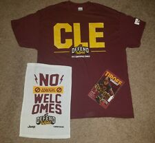 5205b98bb8443d Cleveland Cavaliers Defend The Land Eastern Conference Finals CLE T- Shirt