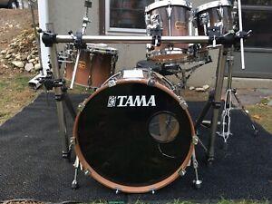 Tama Artstar Custom Smokey Lavender 6 Piece Kit In Really Good Condtion