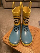 despicable me Minion Wellies Size 1