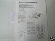 H340 HONDA BROCHURE OFF THE ROAD MOTORFIETSEN  1983 DUTCH 1 PAGE