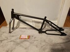 "OLD SCHOOL BMX 1979 MONGOOSE MOTOMAG 20"" FRAME FORK WITH DECALS VINTAGE RARE"