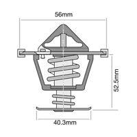 THERMOSTAT FOR HOLDEN SPECIAL VEHICLES GTS 6.2I V8 VE (2010-2013)