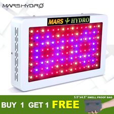 Mars Hydro 600W LED Grow Light Full Spectrum For Indoor Veg Flower Plant Lamp