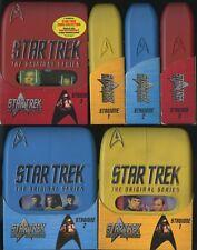 Star Trek SERIE CLASSICA STAGIONE 1 2 E 3 COMPLETE 3 COFANETTI