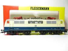 217HO - Fleischmann HO 4348 - Elok E 111 205 türkis/beige DB - top in OVP